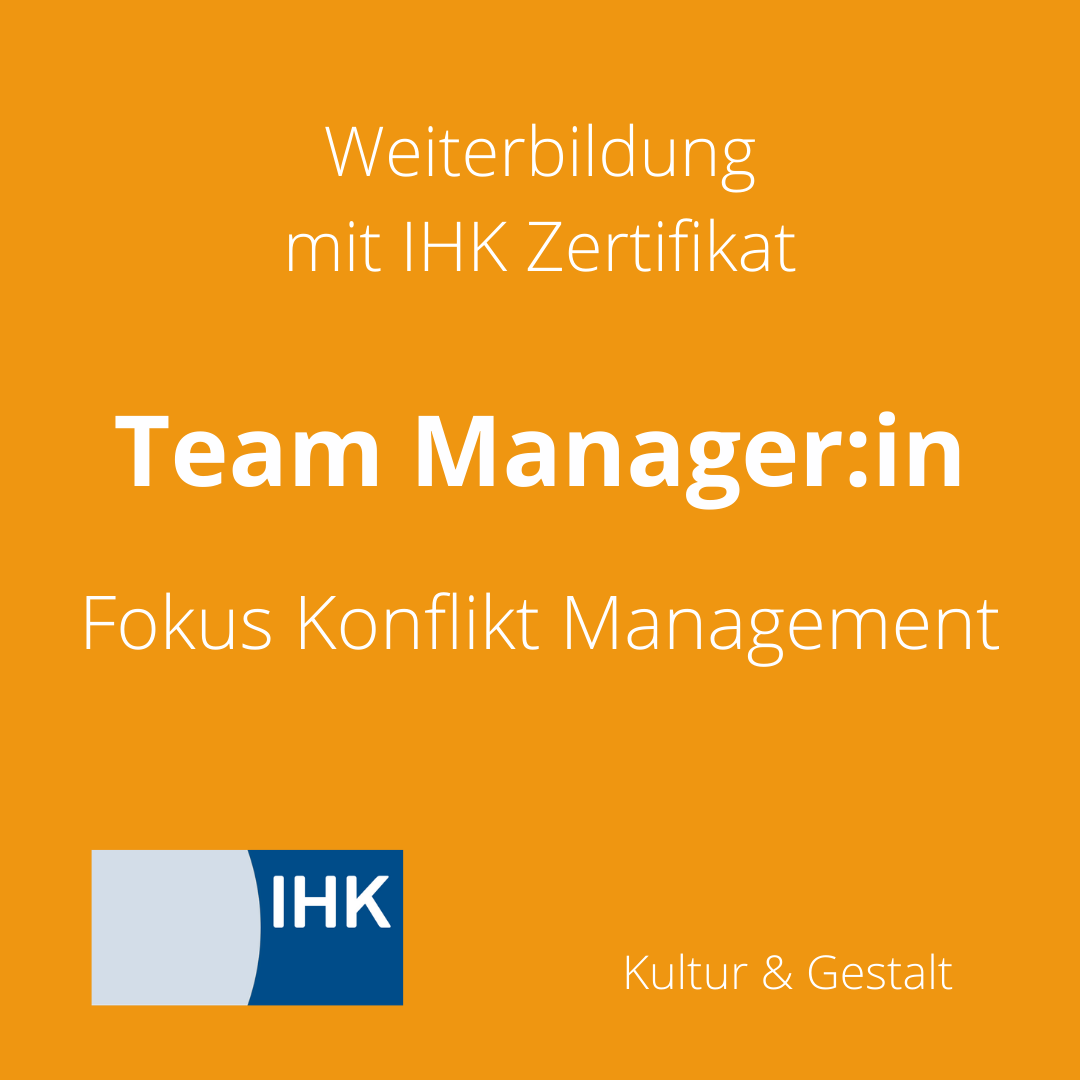 Team Manager:in Fokus Konflikt Management